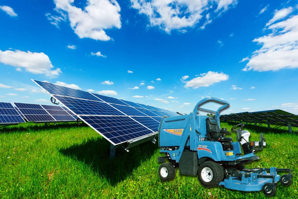 MowerandSolarFarm
